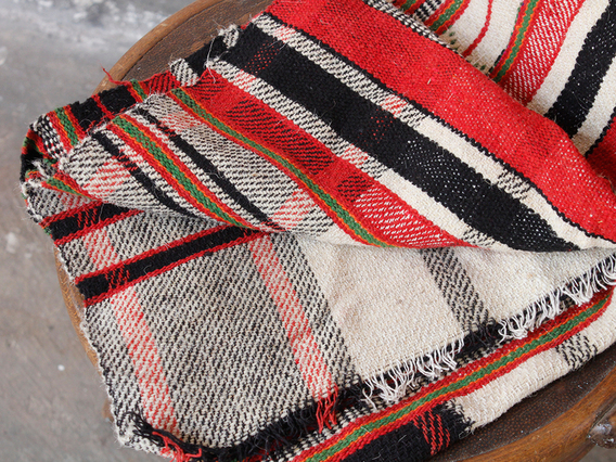 View our  Traditional Red & Black Blanket from the   collection