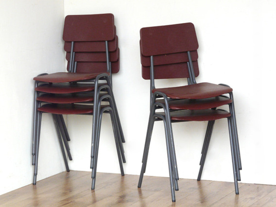 View our  Retro School Chairs By Remploy from the   collection