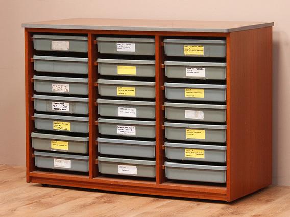 Retro School Filing Cabinet