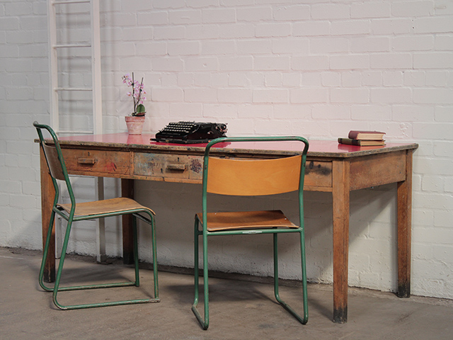 View our Women Retro School Table from the Women Sold collection