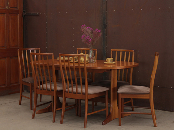 View our  Retro Teak Dining Table by McIntosh from the  Dining Room collection
