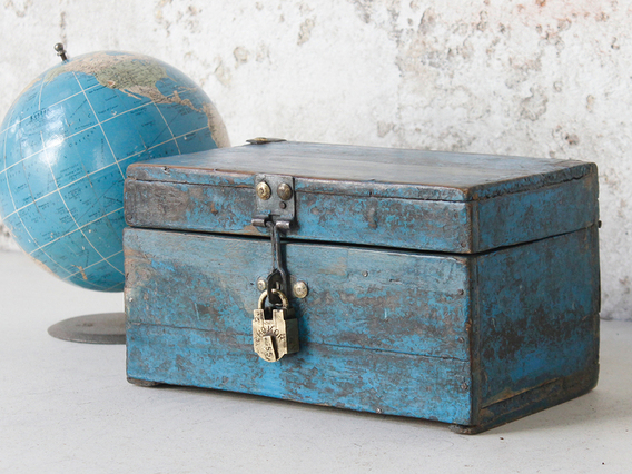 View our   Blue Vintage Box from the  Sold collection