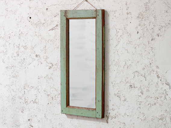 View our  Rustic Green Wall Mirror from the   collection
