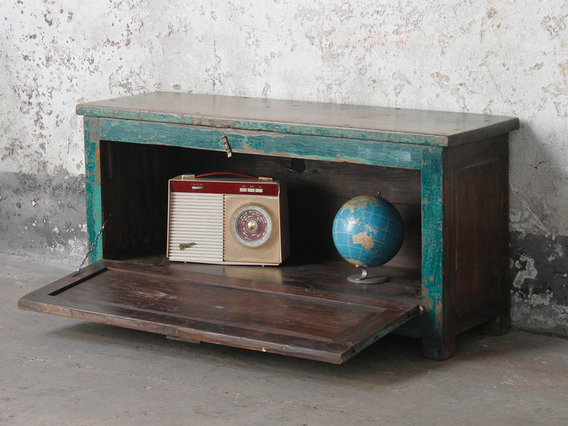 View our  Vintage Wooden Bench from the   collection
