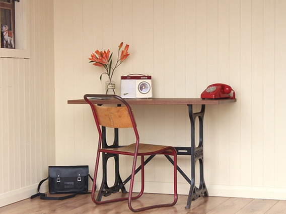 View our  Singer Upcycled Writing Desk  from the   collection
