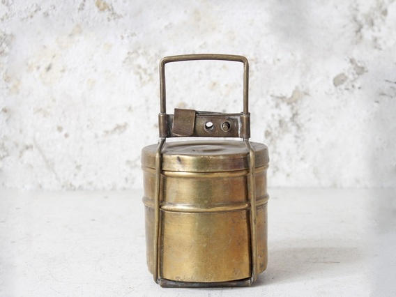 View our  Small Brass Tiffin Box Set from the  Tableware collection