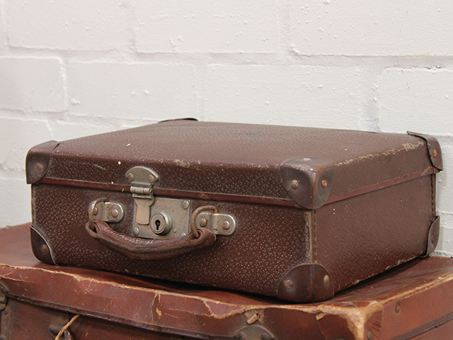 View our  Small Classic Vintage Suitcase from the   collection