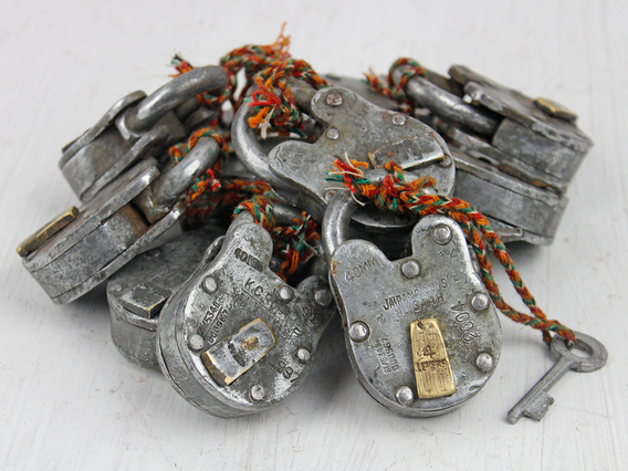 View our  Small Old Iron Padlock from the   collection
