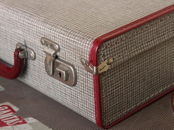 View our  Small-Sized Vintage Suitcase (C) from the   collection