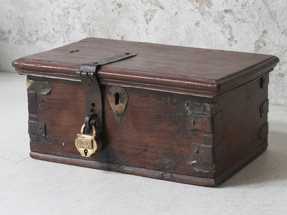 View our  Trinket Box from the  Old Wooden Chests, Trunks & Boxes collection