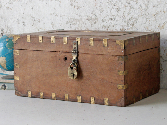 View our  Small Wooden Chest from the  New In collection