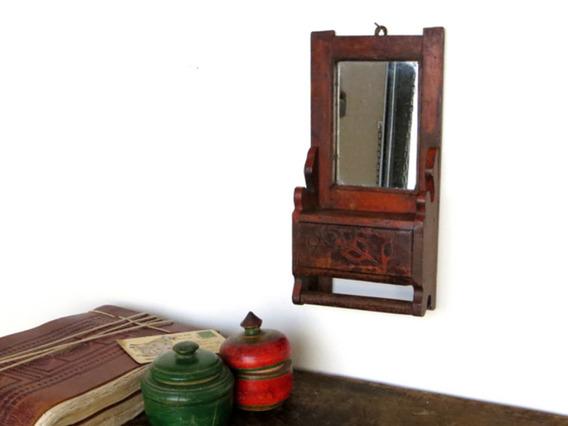Small Vintage Cabinet MIRR35057 C
