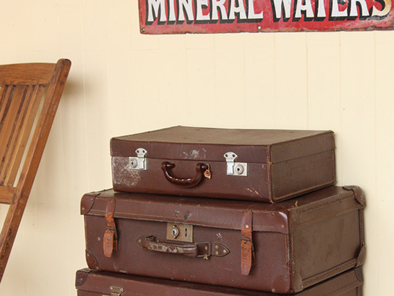 View our  Small Vintage Suitcase (C) from the   collection