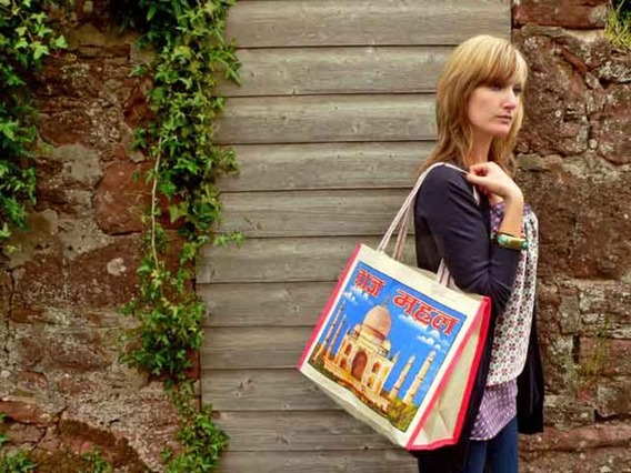 View our  Taj Canvas Bag Long Handles from the  Tote Bags collection