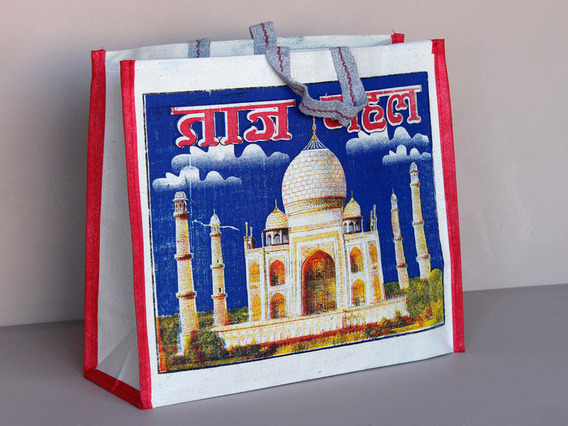 View our  Taj Canvas Bag Short Handles from the  Tote Bags collection