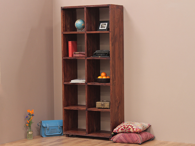View our  Tall Rosewood Shelving Unit from the   collection