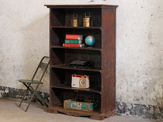 Tall Vintage Shelving Unit