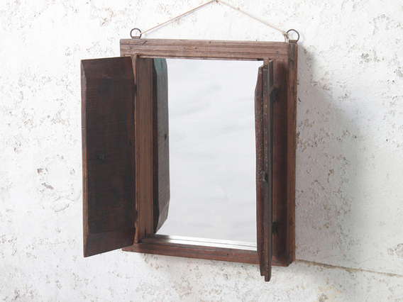 View our  Wall Mirror With Shutters from the  Wooden Mirrors collection