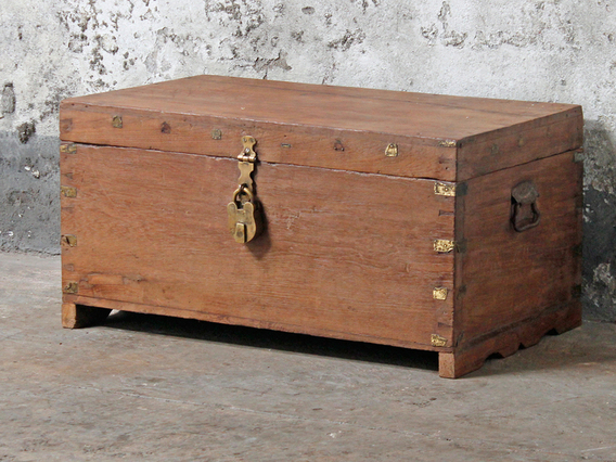 View our  Wooden Storage Chest from the  Coffee Table Chest collection