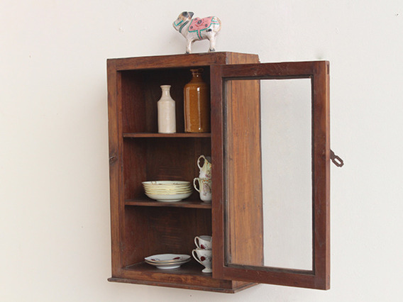 Teak Wall Cabinet CABS30386
