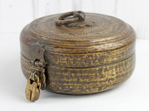 View our  Traditional Brass Chapati Pot from the   collection