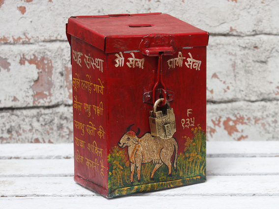 View our  Money Box from the  Old Travel Trunks collection