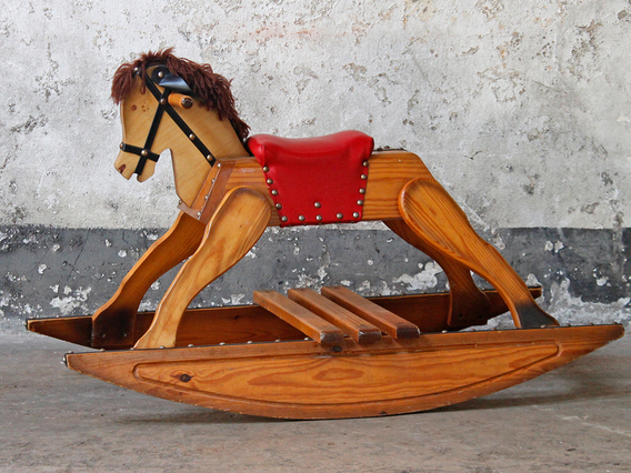 View our  Traditional Rocking Horse  from the  Old Chairs, Stools & Benches collection