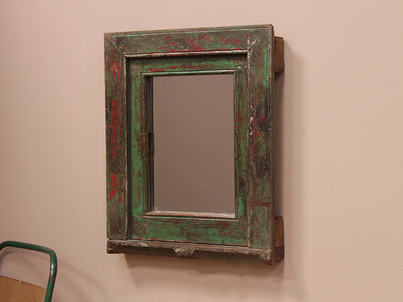 Upcycled Antique Mirror