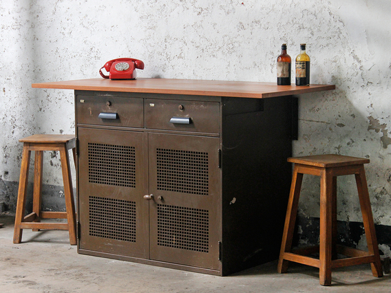 View our  Vintage Breakfast Bar from the  Upcycled collection
