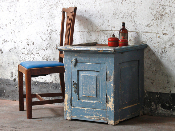 View our  Vintage Bedside Cabinet from the   collection