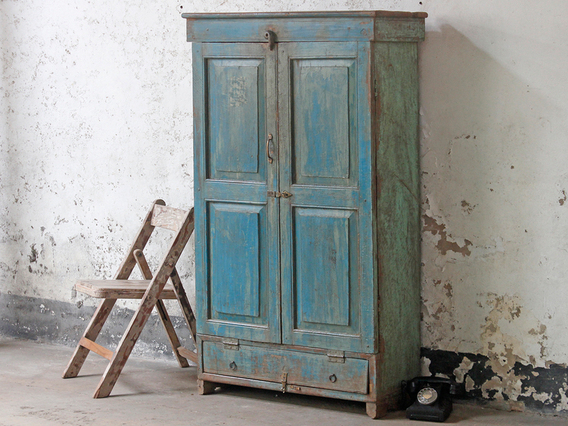View our  Blue Wardrobe from the  Vintage Cabinets & Cupboards collection
