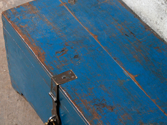 View our  Vintage Blue Chest from the  Sold collection