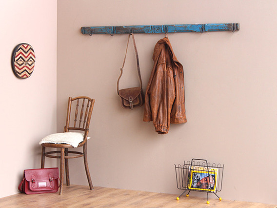 View our  Vintage Blue Coat and Hat Hook Rack  from the   collection