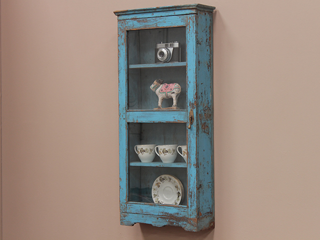 View our  Vintage Blue Wall Cabinet from the  Vintage Cabinets & Cupboards collection