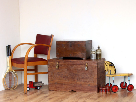 View our  Vintage Box 3051 from the  Old Wooden Chests, Trunks & Boxes collection