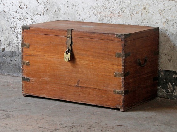 View our  Vintage Chest from the  Blanket Box collection
