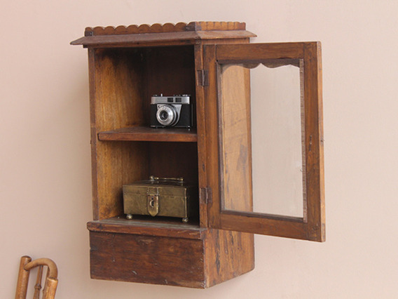View our  Vintage Compact Teak Wall Cabinet (C) from the  Vintage Cabinets & Cupboards collection