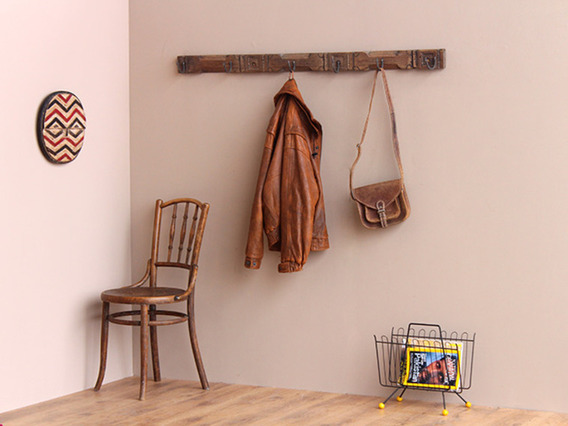 View our  Vintage Distressed Coat and Hat Hook Rack (C) from the   collection