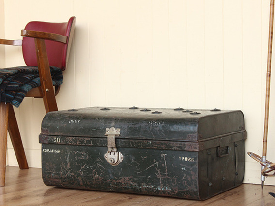 View our  Vintage Distressed Metal Travel Case from the   collection