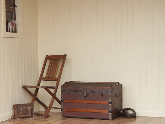 View our  Vintage Domed Travel Trunk (C) from the   collection