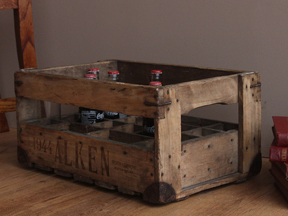 View our  Vintage Drinks Crate from the   collection