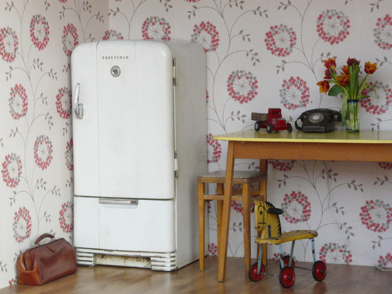 View our  Vintage Fridge By Prestcold from the  Vintage Wooden Pots collection