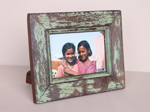 View our  Vintage Green Wooden Photo Frame  from the   collection