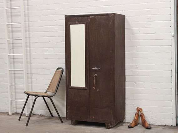 View our  Vintage Industrial Metal Cupboard from the   collection