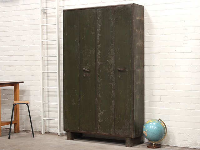 View our  Vintage Industrial Steel Locker from the   collection