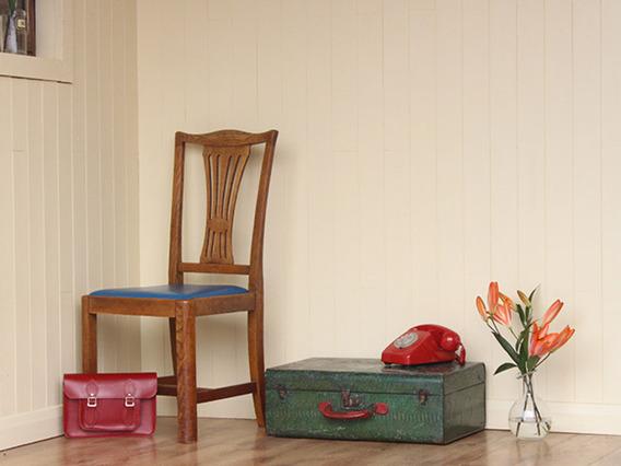 Vintage Iron Suitcase