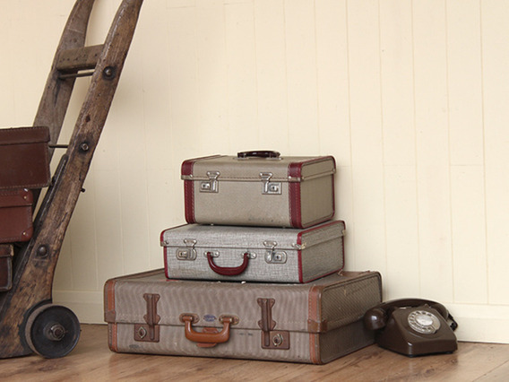 View our  Vintage Lady's Compact Suitcase (C) from the   collection