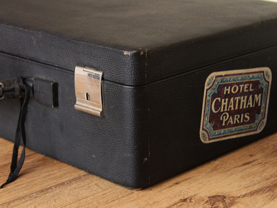 View our  Vintage Lady's Black Leather Vanity Case (C) from the   collection