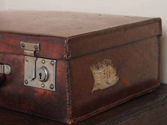 View our  Vintage Leather Suitcase TLNM45170 C from the   collection