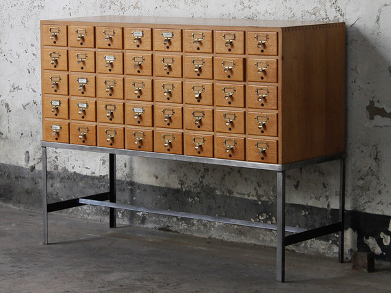 View our  Vintage Library Cabinet from the  Architectural collection